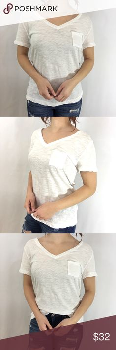 Basic White Short Sleeve Tee Basic White Short Sleeve Tee A wardrobe staple! A classic white tee goes a LONG way in your everyday wardrobe! Throw on this basic to build the perfect outfit around it! Glamvault Tops