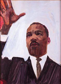 Bernie Fuchs illustration of Martin Luther King Jr. Fuchs Illustration, Magazine Illustration, Retro Illustration, American Illustration, Vintage Illustrations, Digital Illustration, Dojo, Look Magazine, Art Walk