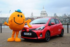 Toyota lanches new car that giggles when you tickle it
