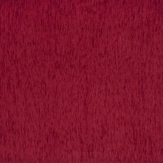 F883 Red Textured Solid Chenille Upholstery By The Yard