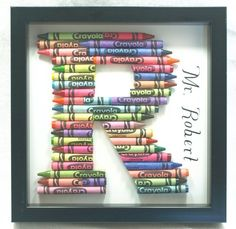 letter crayons for kids