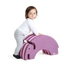 Ellie is ideal for children to develop their motor skills, both by playing and using the elephant in all kinds of different practical ways. At the same time, it looks good, so it can be used all over the home! http://blossomforchildren.co.uk/at-home/72-bobles-elephant.html