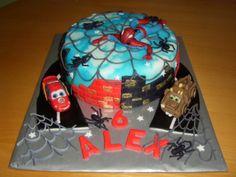 cake-dort spiderman