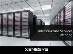 Tutta la nostra offerta infrastrutturale: #disaster #recovery, #storage, #networking, #security.