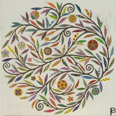 Manyung Gallery Group Eliza Piro Flower Mandala