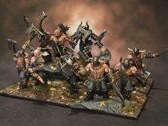 Warhammer Age of Sigmar | Slaves to Darkness | Marauders Conversion #warhammer #ageofsigmar #aos #sigmar #wh #whfb #gw #gamesworkshop #wellofeternity #miniatures #wargaming #hobby #fantasy