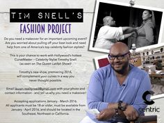 Queen Latifah's Stylist Timothy Snell Has A New Show For Curvy Girls