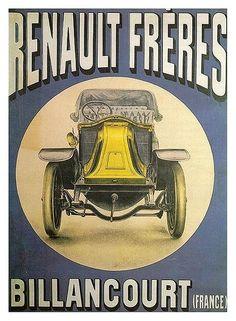 Carteles publicitarios de coches antiguos - Taringa!