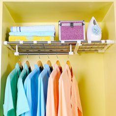 Home & Garden 5pcs Clothes Organizer Drawer System Closet Clothing Adjustable Divider Storage