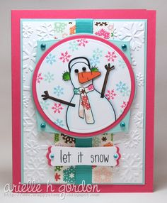 Snappy Stampin' w/ Arielle: LET IT SNOW / MM #18...