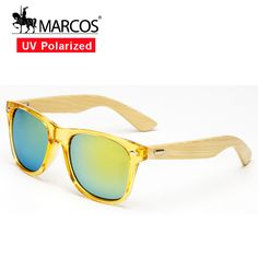 2f96629df4 Aliexpress.com: Comprar Madera de bambú de madera gafas de sol de oro NEGRO  CALIENTE marcos de los vidrios envío gratis de sunglass rayban fiable ...