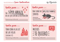 20 Valentines Day Printables in Spanish Be My Valentine, Valentine Gifts, Disney Christmas Decorations, Valentine's Day Printables, Tumblr Stickers, You Make Me Happy, Printable Paper, Love Book, Boyfriend Gifts
