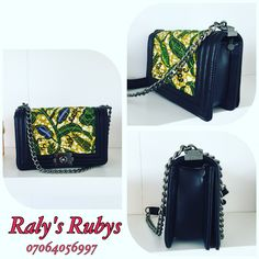Ralys's Ruby's Ankara boy bag