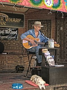 2016 Michael McCloud, Schooner Wharf; good place to sit and listen