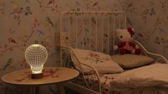 Lampe BULBING Chambre Enfant - Tuxboard.com