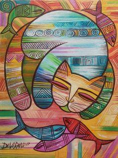 Devirani Dasgupta | Saatchi Art Indian Contemporary Art, Original Art, Original Paintings, Dream Painting, Beaded Embroidery, Buy Art, Folk Art, Saatchi Art, Canvas