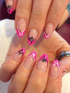 Nail Tip Designs, Winter Nail Designs, Finger Nail Art, Girls Nails, Daily Nail, Elegant Nails, French Tip Nails, Nail Art Galleries, Winter Nails