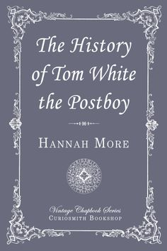 The History of Tom White the Postboy. Tom White had a Christian upbringing, but left that way of life for three or four years until he had a drunken racing accident. During his recovery he was motivated to seek God again. He had a new job opportunities and was married. He became a model of good behavior and grew successful and respected.