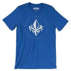 Mens FDL Short Sleeve T-Shirt - Royal Blue-*Mens T-Shirt-S-Noble Streetwear™