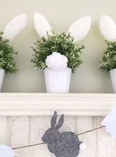 HomelySmart | 15 Fun Bunny Decor Ideas For Coming Easter Day - HomelySmart