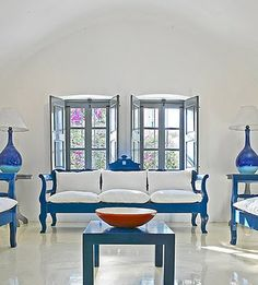 Steal the Style: A Modern Greek Getaway | Interior design ...