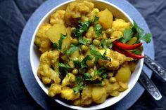 Aloo gobi, czyli kalafior z ziemniakami– bardzo popularne danie…