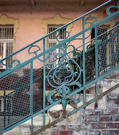 Budapest, Art Nouveau by elinor04 mostly off, via Flickr