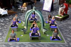 London Evening Standard: Do you Moga? New London fitness concept will combine yoga with a live orchestra. From the Downdog Diary Yoga Blog found exclusively at DownDog Boutique. DownDog Diary brings together yoga stories from around the web on Yoga Lifestyle... Read more at DownDog Diary