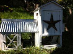 This is a Farmyard Darlings Chicken Coop. So cute.