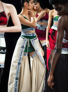 Nasir Mazhar   Womenswear Collection   Available at SHOWstudio