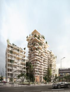 Gallery of Sou Fujimoto and Laisné Roussel Propose Wooden Mixed-Use Tower for Bordeaux - 10