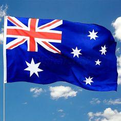 Soccer Nation Flag AUSTRALIA (3ft x 5ft, 150x90cm)