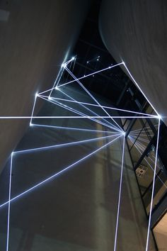 La Rivincita dell Angolo | Italian designer and artist Carlo Bernardini plays with light and space to create monumental light installations