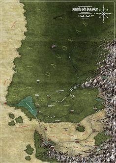 Järnringen: Symbaroum: Karta