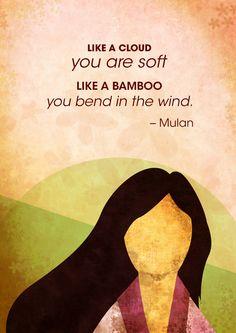 Mulan Quotes on Behance