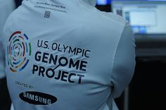 U.S. Olympic Genome Project created by Samsung.     SXSW Interactive 2012. SXSWi in Austin TX. Photo by Esteban Contreras.