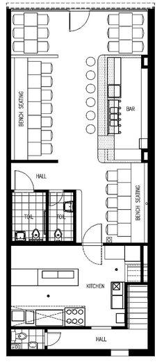 Interior design, restaurante bar, coffee shop design, concept restaurant, r Restaurant Layout, Restaurant Bar, Concept Restaurant, Restaurant Floor Plan, Restaurant Design, Design Café, Cafe Design, Plan Design, House Design