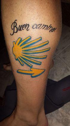 Resultado de imagen de tatuaje camino de santiago