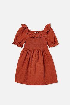 Lilliana Short Sleeve Dress Girls Dresses, Summer Dresses, Cold Shoulder Dress, Short Sleeve Dresses, Sleeves, Outfits, Tops, Women, Inspiration
