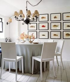 21 Coastal Gallery Walls  -Inspiration and Ideas to Create a Compelling Display