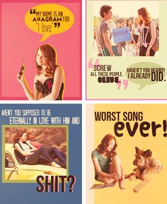 Defo the best quotes; Tv Quotes, Movie Quotes, Easy A Quotes, Movie Co, Love Movie, The Best Films, Great Movies, Easy A Film, Movies Showing