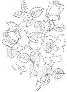 Gallery.ru / Фото #1 - Рисунки для вышивки гладью или для росписи холста - svetlanapaladii