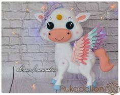 Keçe Unicorn Yapılışı