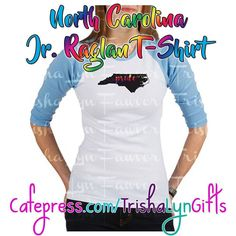 From my State Pride Collection: this North Carolina Pride Jr Raglan T-Shirt is available now in my Cafepress store! This same design is available on more clothing drink ware home goods jewelry and more! http://ift.tt/2esXFMN  #statepride #pride #lgbtqpride #gaypride #advocate #proudadvocate #usa #maps #rainbow #shopsmall #tshirts #raglan #northcarolina #northcarolinapride #pridenorthcarolina #crafty #designer #forsale #pridegifts #pridedesign #prideapparel #LGBTQI #LGBTQ #LGBT #buzzfeedlgbt…