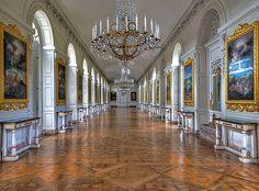 """Le grand Trianon  La galerie des """"Cotelle"""""""