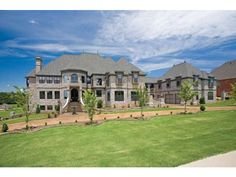 French Country - 6 bedroom, 7 bath, including a library! 7, 618 sq ft : ) awesome