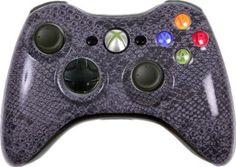 Amazon.com: Custom Xbox 360 Controller - Gray Cobra: Video Games #customxbox360controllers #customcontrollers #moddedcontrollers #moddedxbox360controllers