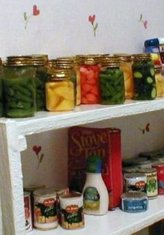 how to: another method of making mini canning jars