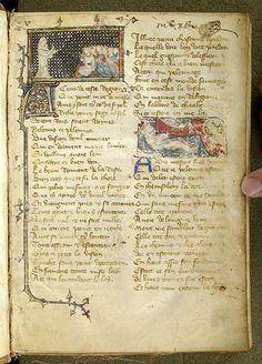 Le pèlerinage de la vie humaine, M.1038 fol. 1r - Images from Medieval and Renaissance Manuscripts - The Morgan Library & Museum
