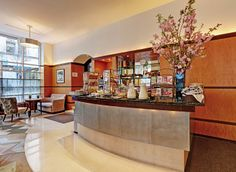 Complimentary Continental breakfast at the Hotel Giraffe New York in photos - Best boutique hotel NYC